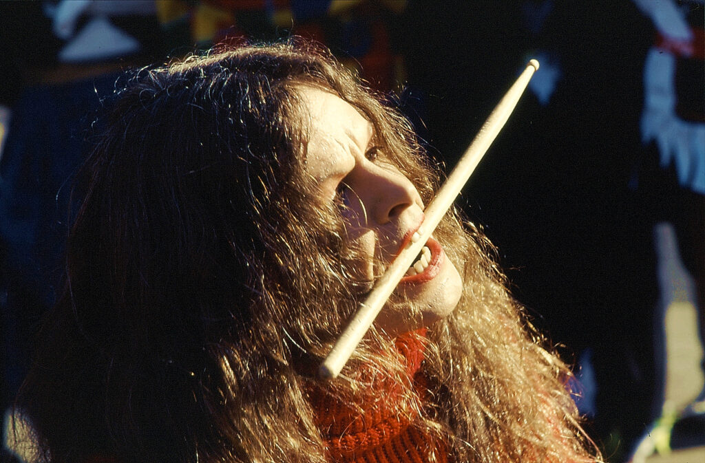 Schlagzeugerin, Köln