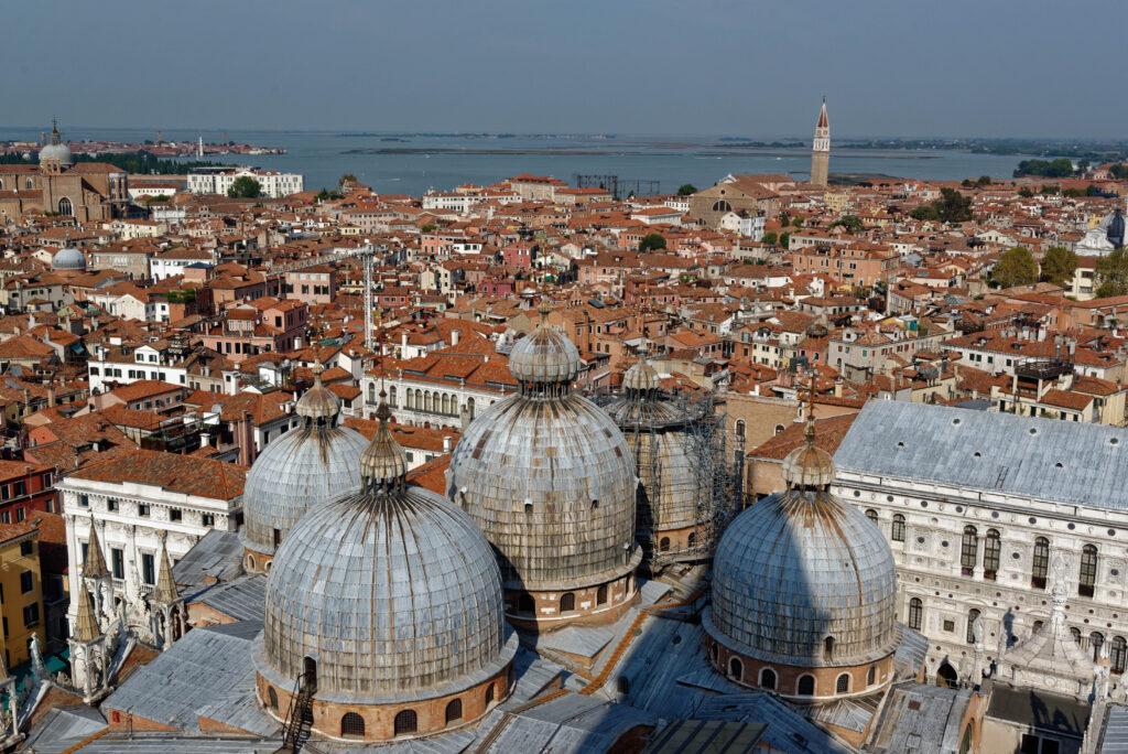 Blick vom Markusturm, Venedig