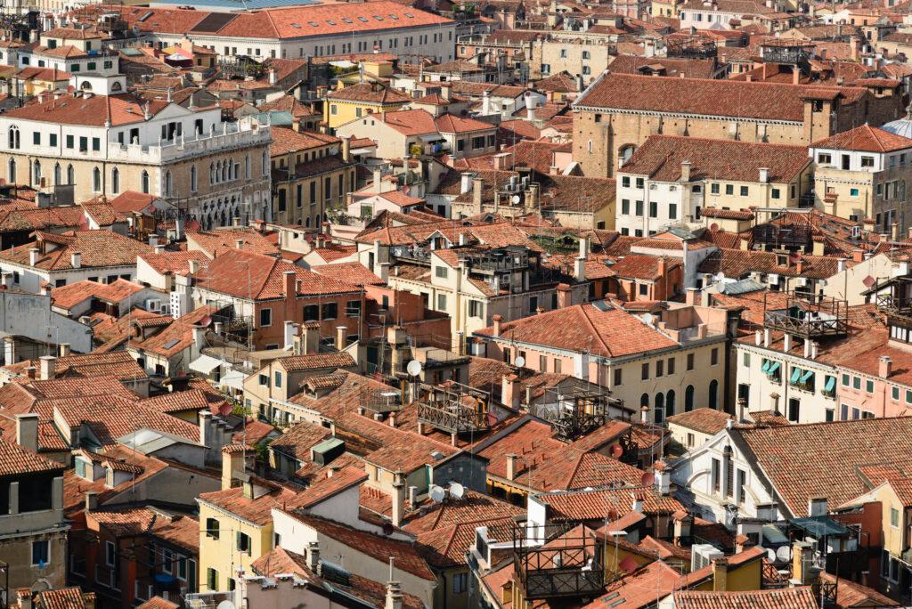 Dächer in Venedig
