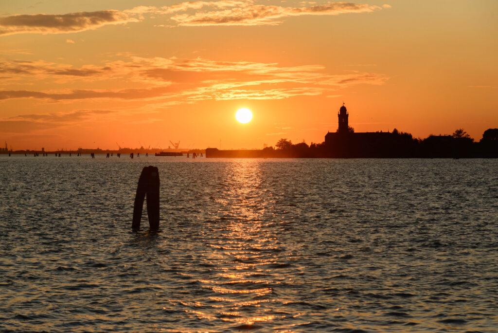 Sonnenuntergang, Venedig