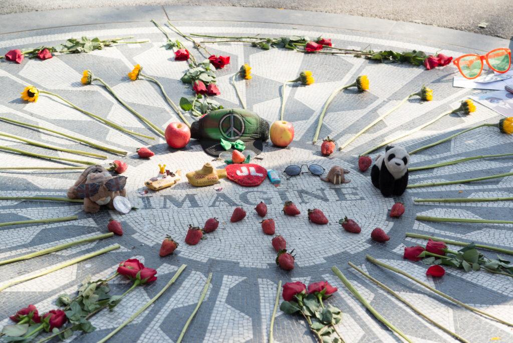 John Lennon Memorial Central Park